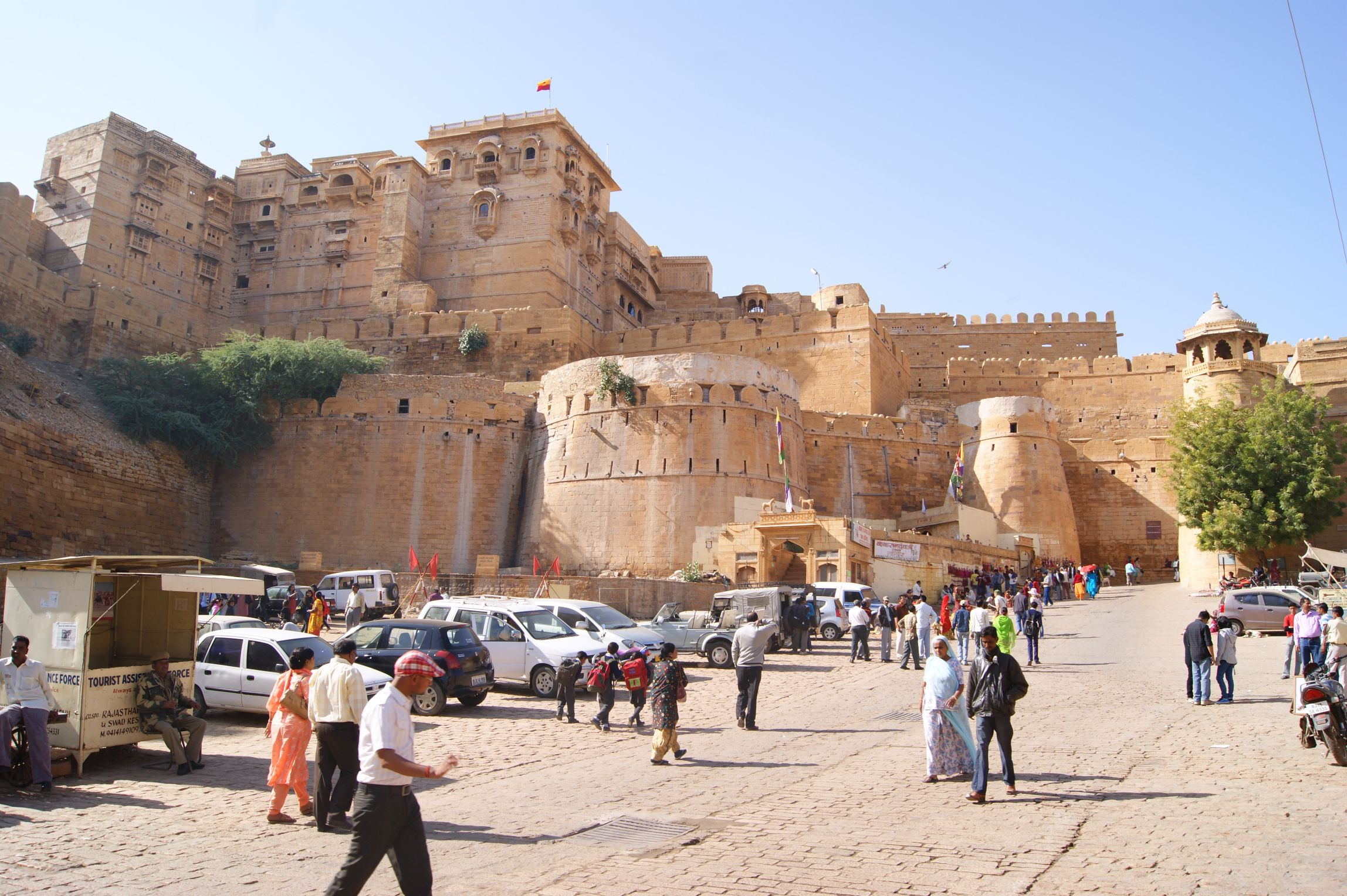 Jaisalmer_fort_Rajasthan