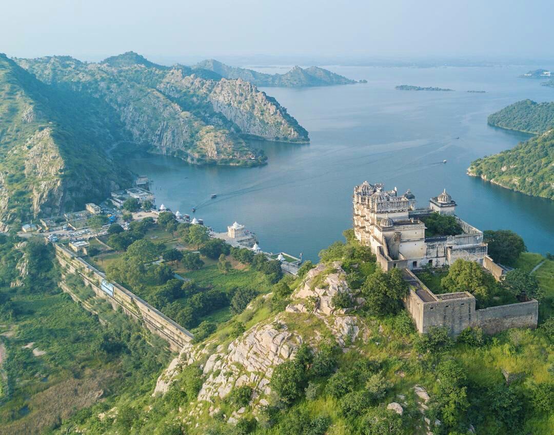 Jaisamand Lake Udaipur Rajasthan India 2020