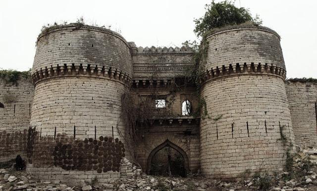 Shahabad fort Baran