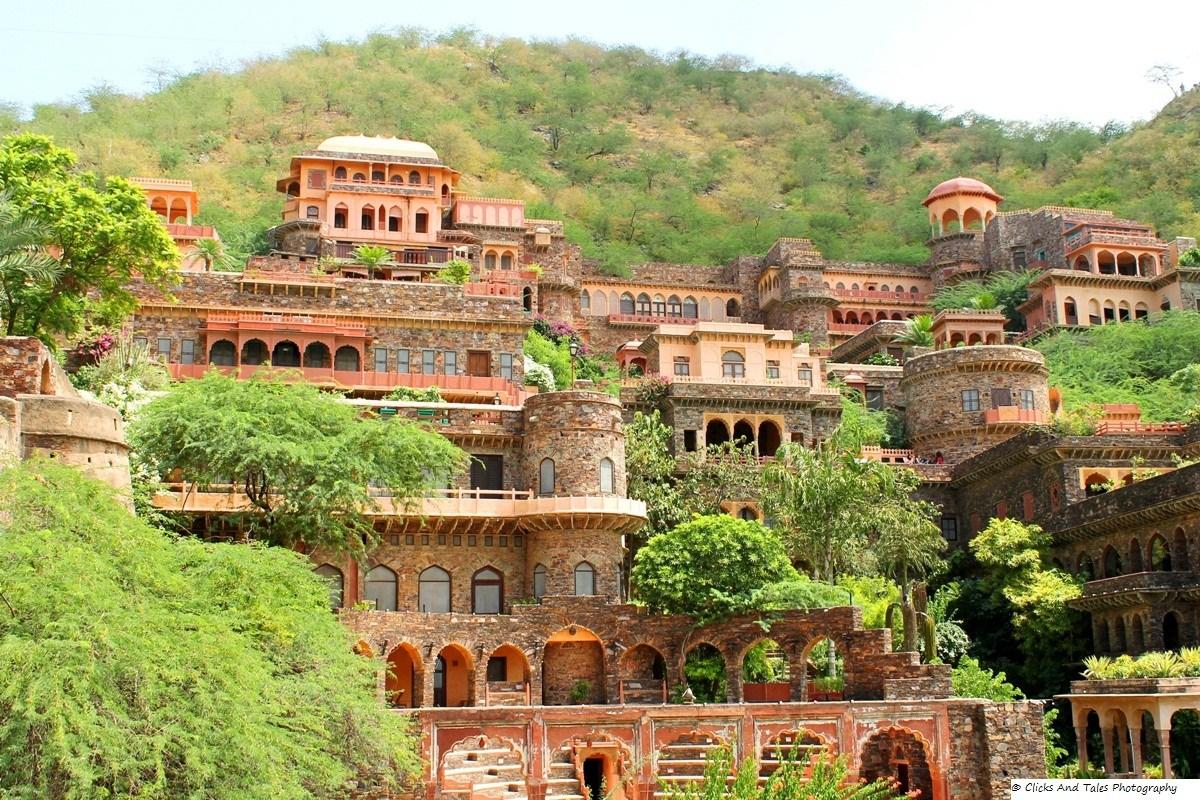 Fort Neemrana Palace,  Alwar Rajasthan (2020)